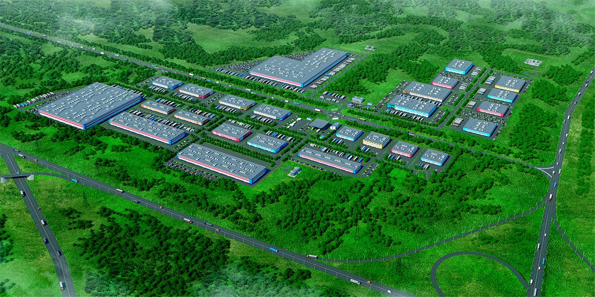 Индустриальный парк в городском округе Кашира.